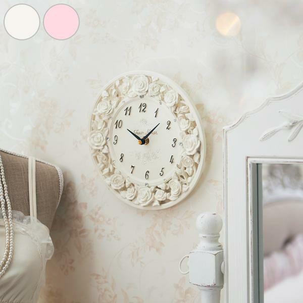 シャインローズ掛時計
