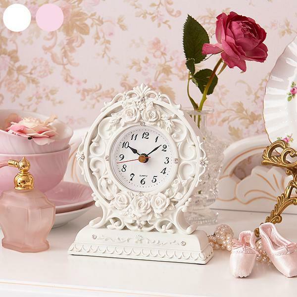 シャインローズ置時計
