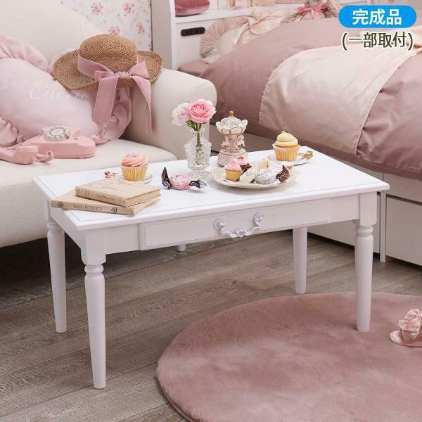 テーブル小/Blanc(ブラン)
