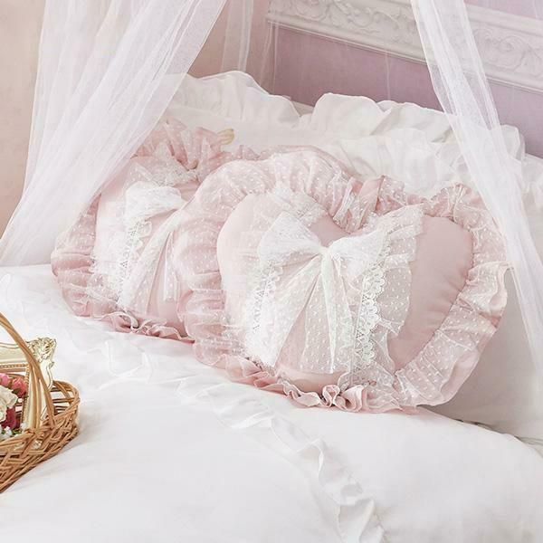プリンセスハートクッション