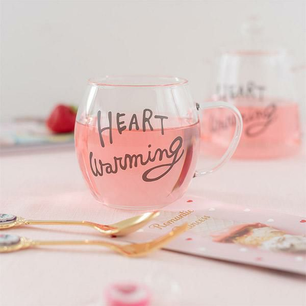 耐熱ガラスマグ/HEART Warming